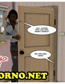 A prostituta negra e barata – Hentai 3D