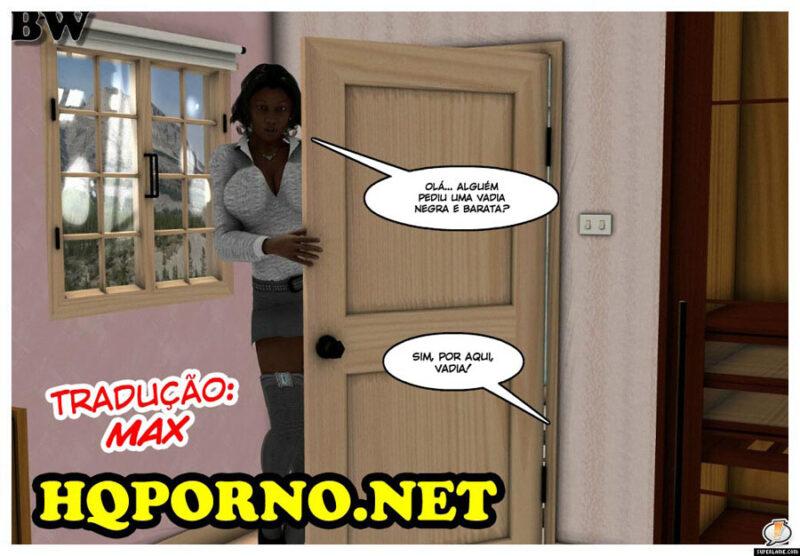 A prostituta negra e barata - Hentai 3D