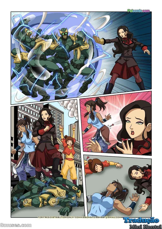 Avatar Hentai - As Garotas de Avatar