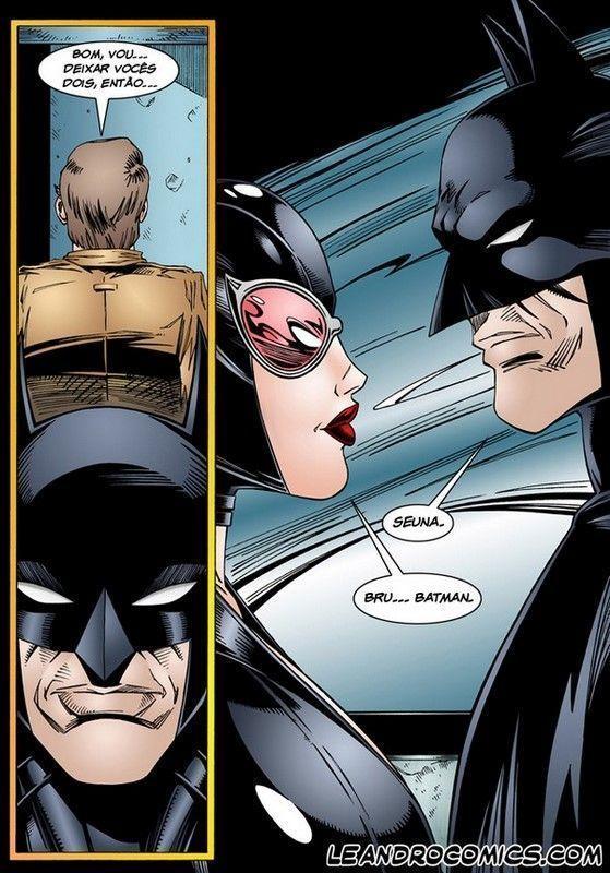 Batman HentaI - Batman e Mulher Gato na Putaria
