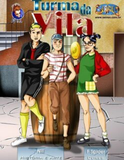 Chaves Hentai – A Turma da Vila