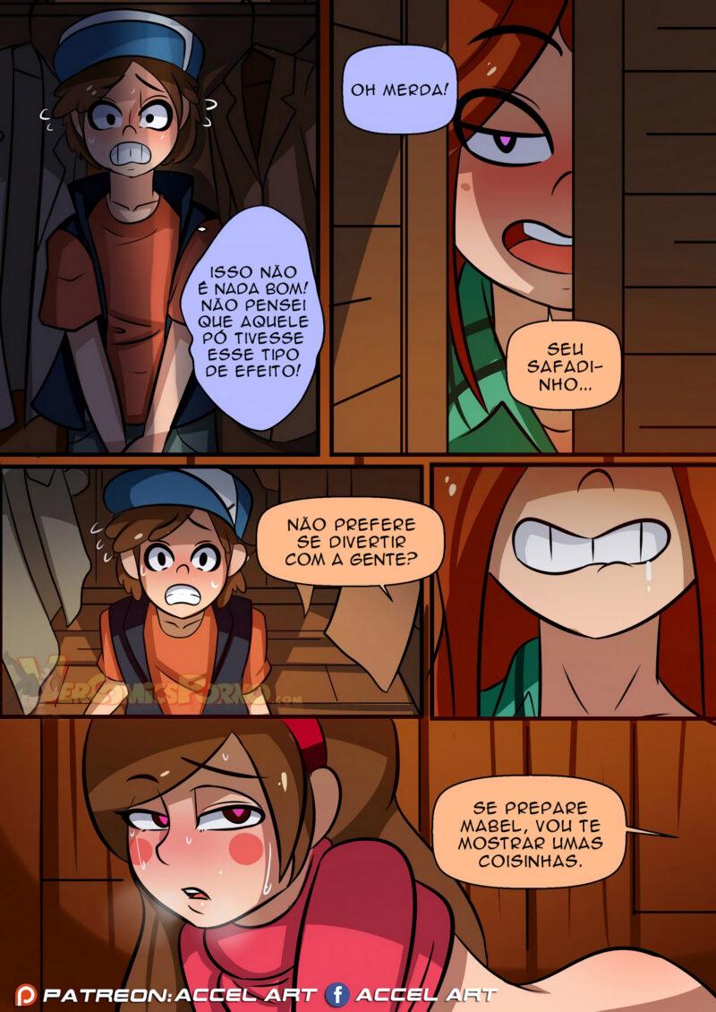 Gravity Falls Hentai - Lições Sexuais da Wendy