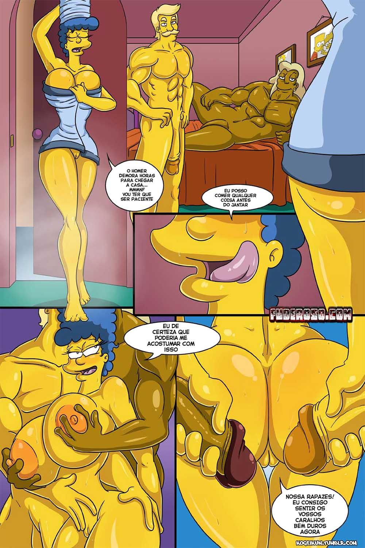 Os Simpsons Hentai - As Fantasias Sexuais de Marge