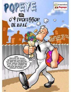 Popeye Hentai – Brutos o Professor de Balé