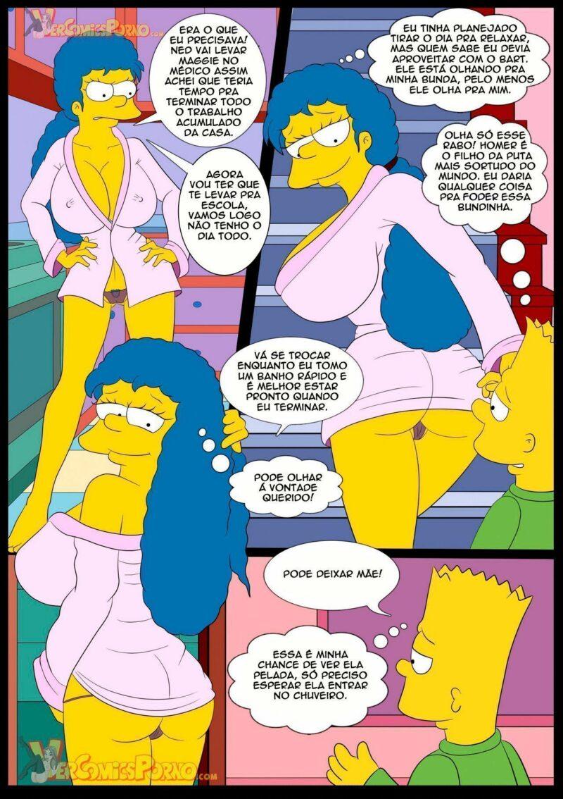 Simpsons Porno - Comendo Minha Mãe