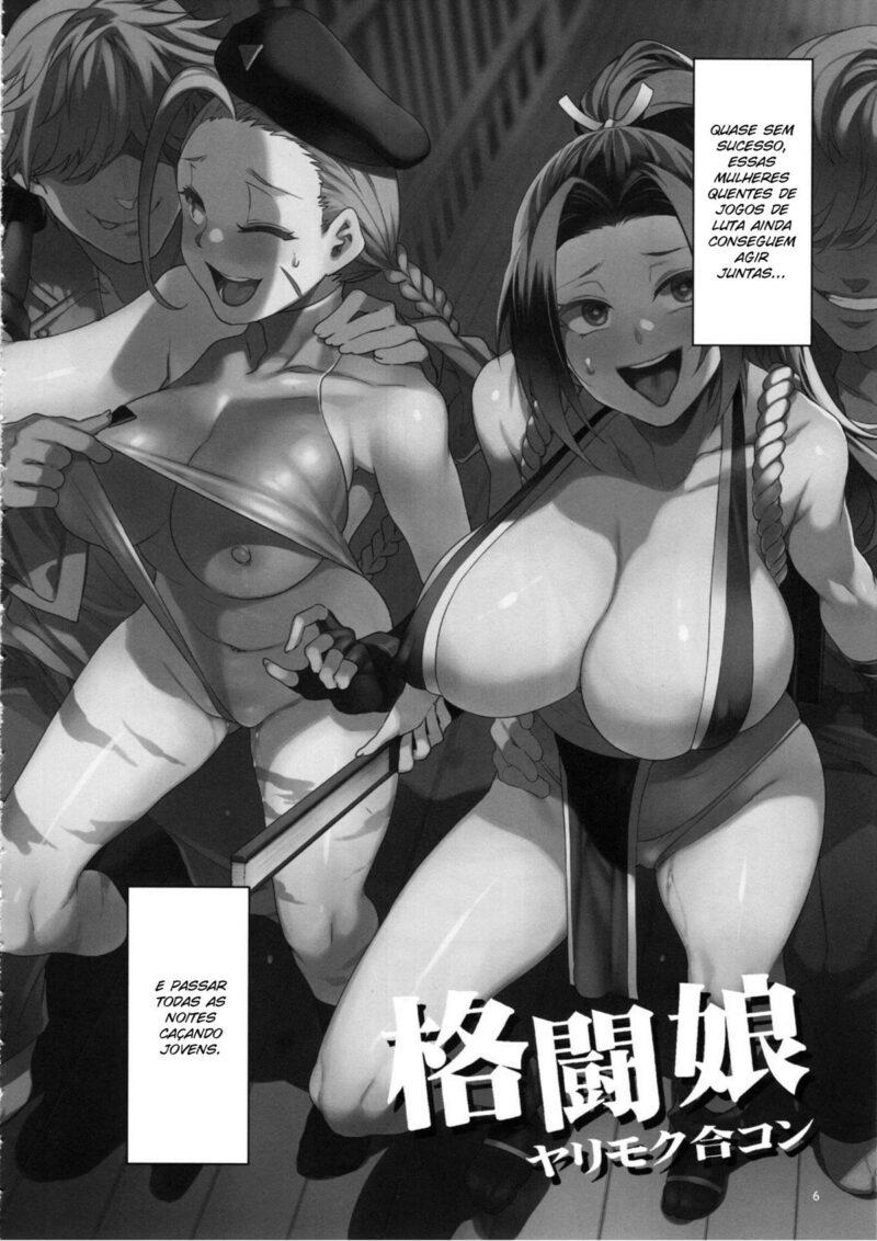 Street Fighter - O Trio da Putaria