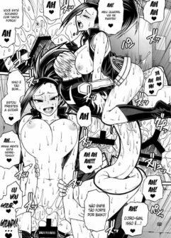 Momo x Shiro - Boku no Hero Hentai - Foto 8